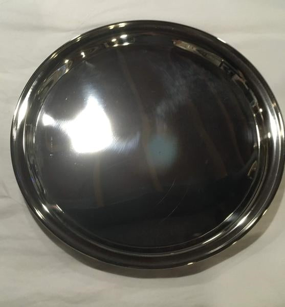 Stainless Steel Circle Tray - Engravable