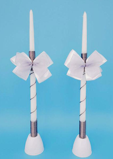 Zoe Tapered Candles - Set of 2