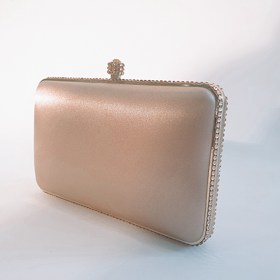 ADDISON | Champagne clutch