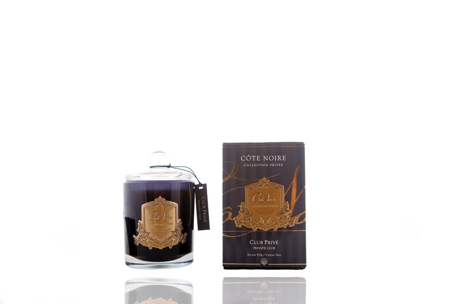 Cote Noire | 450g Soy Blend Candle - Private Club