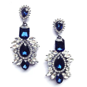 VIVIENNE | Crystal Drop Earring