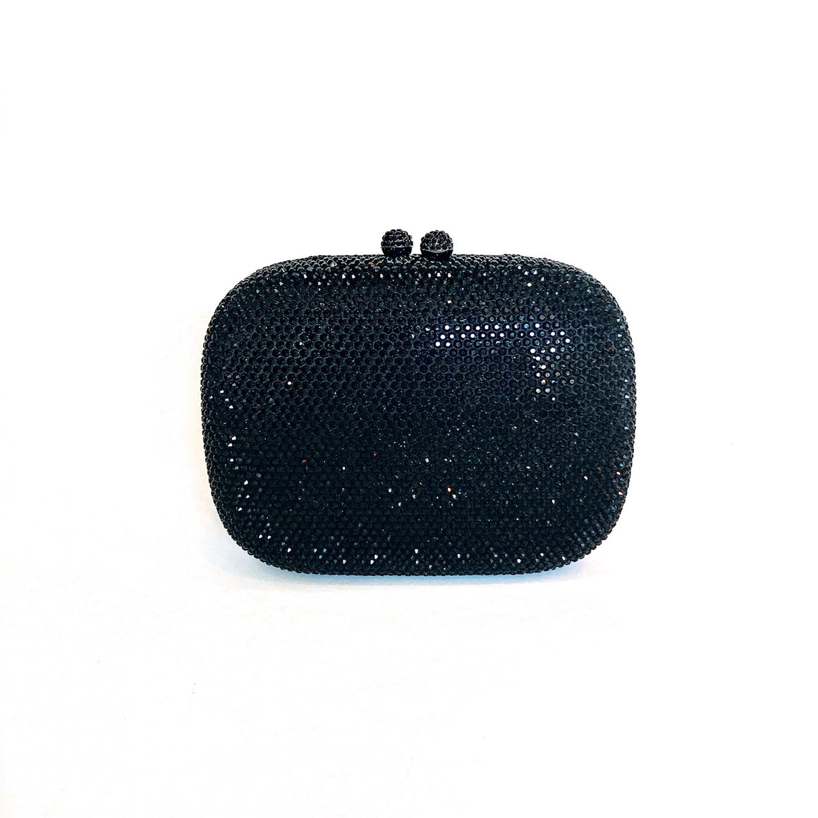 DIANNA | Black crystal Clutch