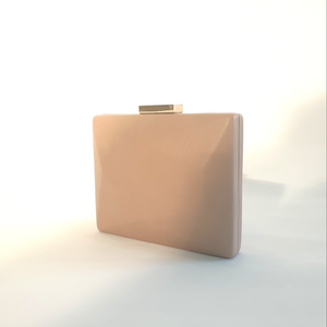 Biscuit Nude Clutch
