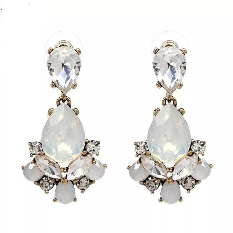 CLARA LIGHT | Crystal Drop Earring