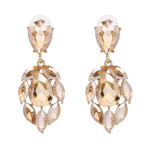 OLIVERA | Crystal Drop Earring