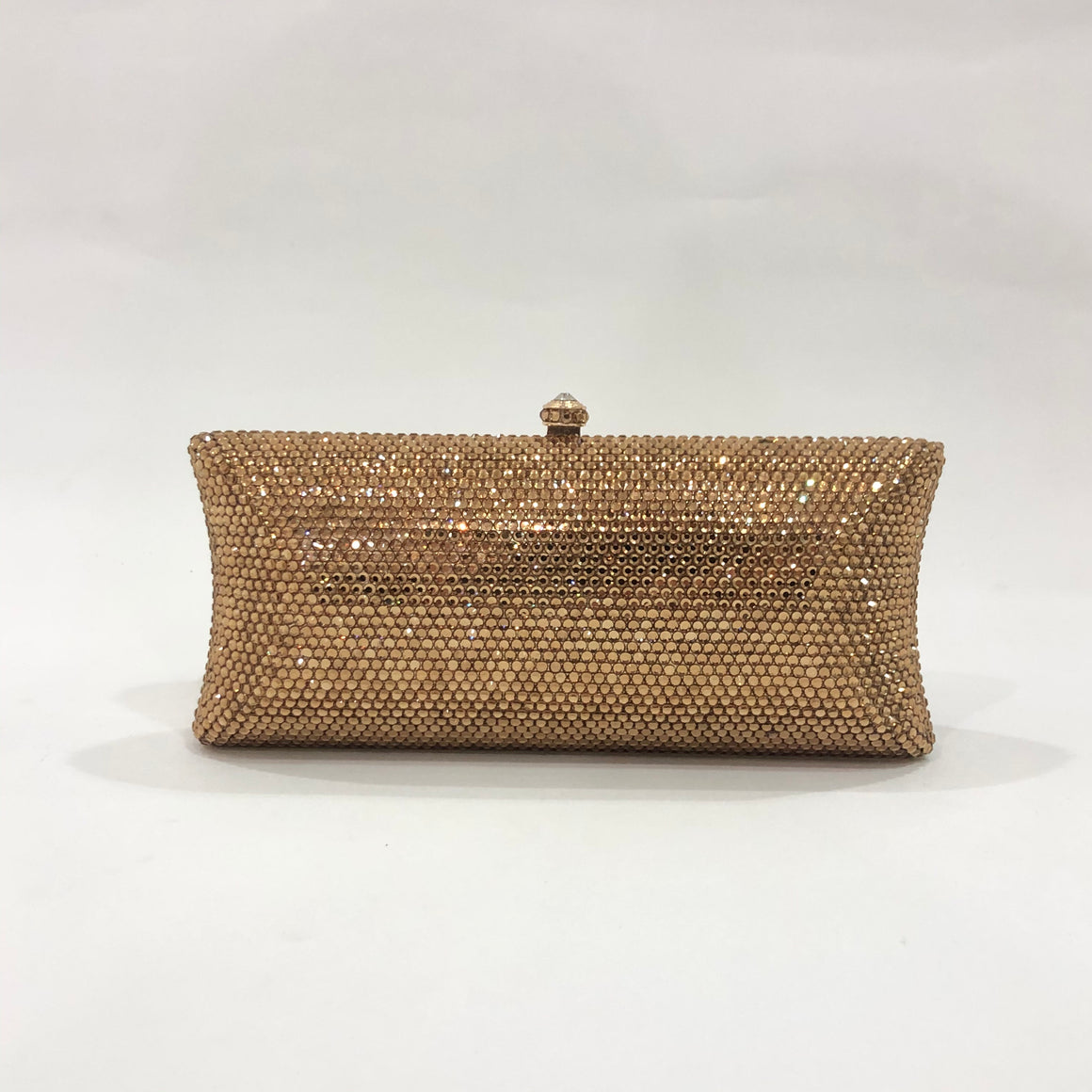 Gold Crystal Clutch