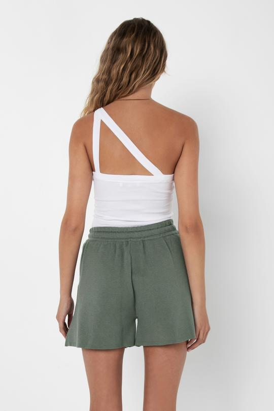MADISON |IVANA KNIT SHORT - SAGE