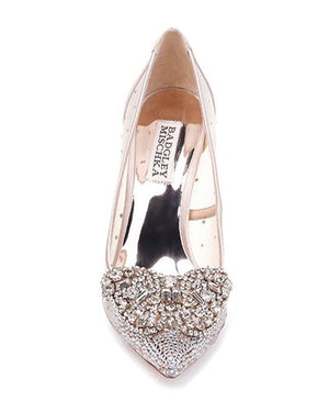 BADGLEY MISCHKA | Quintana Crystal Ornamented Pump