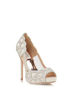 BADGLEY MISCHKA | Witney Embellished Evening Shoe