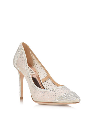 BADGLEY MISCHKA | Weslee Crystal Embellished Evening Shoe
