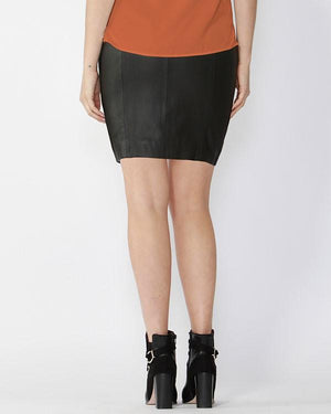 FATE + BECKER | Mercury Leather Skirt