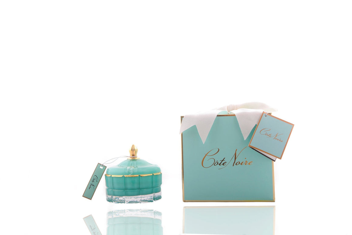 Cote Noire | Art Deco Candle - Tiffany Blue