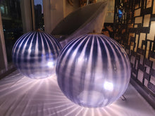 "Load image into Gallery viewer, Pair of Large Murano ""Bauble"" lamps"
