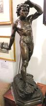 Load image into Gallery viewer, Fine 19th century bronze by Louis Bonduel, 1857-1928.