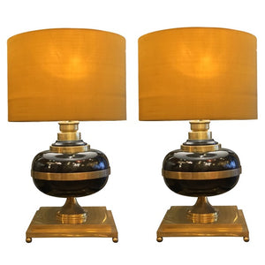 1950s Pair of Table Lights