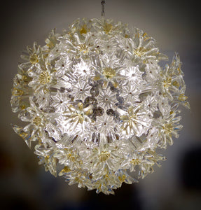 "Venetian ""Esprit"" glass chandelier"