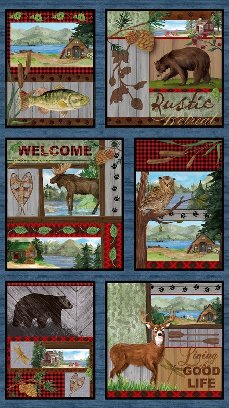 Rustic Retreat Digital Panel 10330B-99