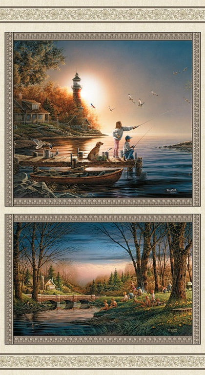 Terry Redlin Multi Spring-Summer Season Panel Digital # 12327B-99