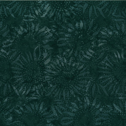 Blacklight Sunflower Batik 884-537