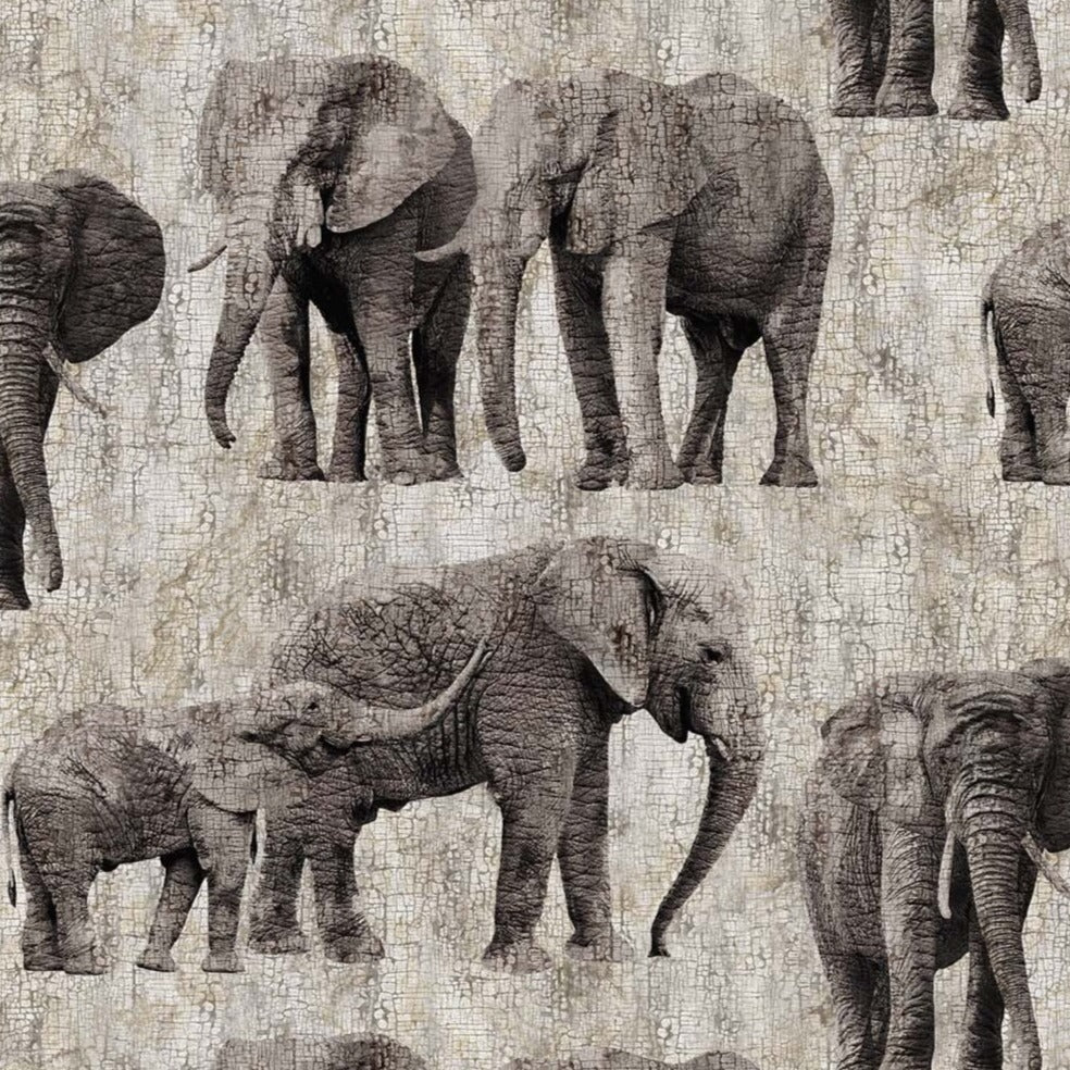 New Dawn Gray Elephants DP23923-94