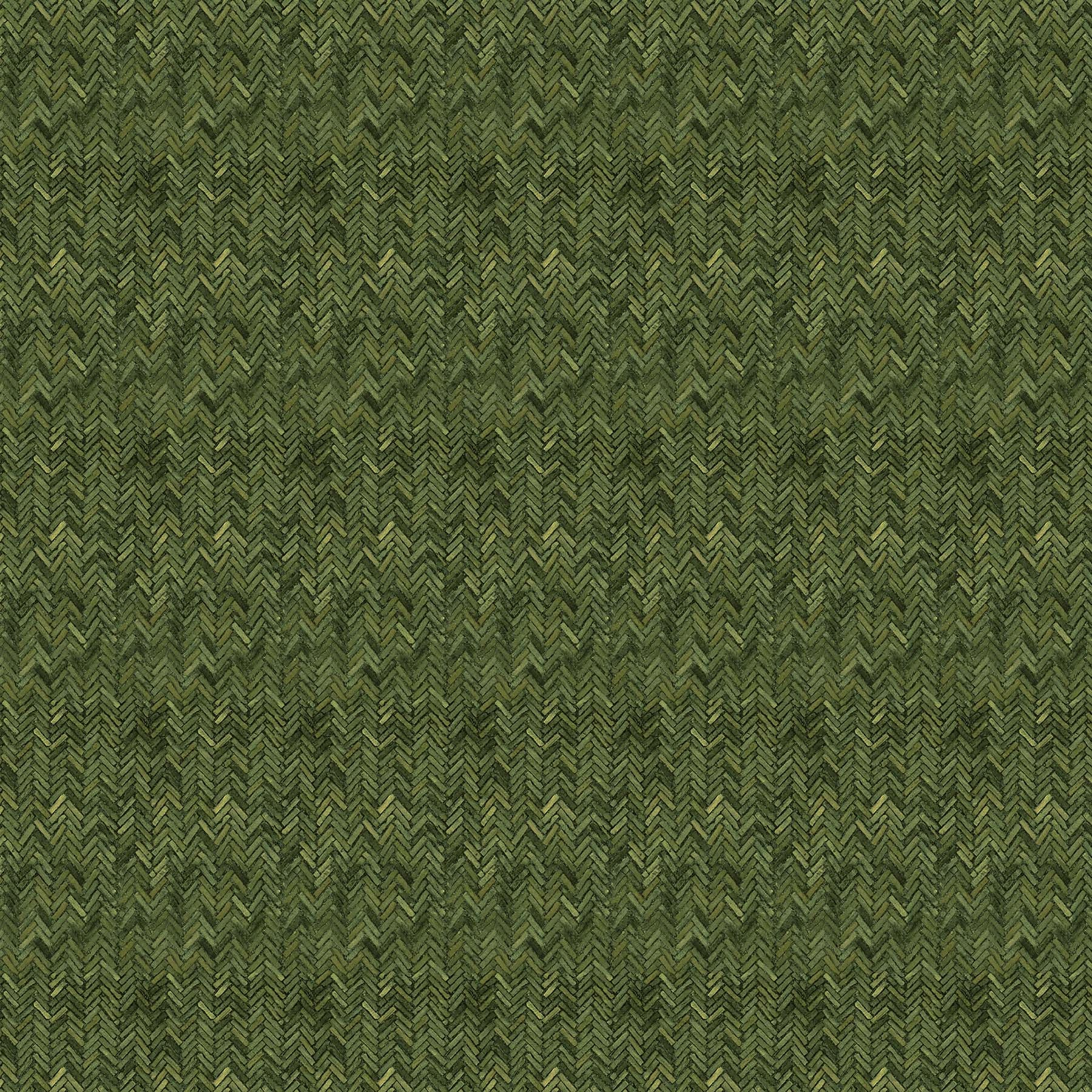 FLANNEL Lakeside Lodge - Green Herringbone F23560-76
