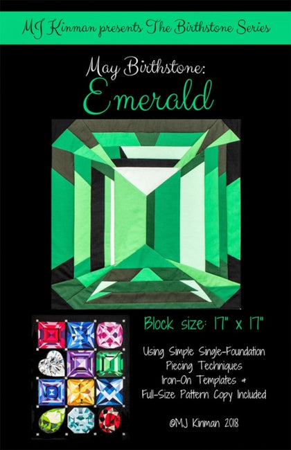 MJ Kinman Birthstones: May Emerald KIT