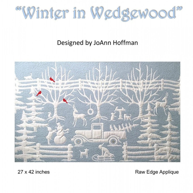 JoAnn Hoffman - Winter in Wedgewood Pattern
