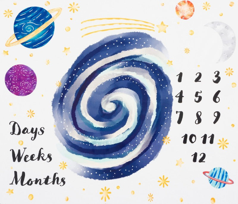 White Space Days Weeks Months Panel 36in SRKD189471