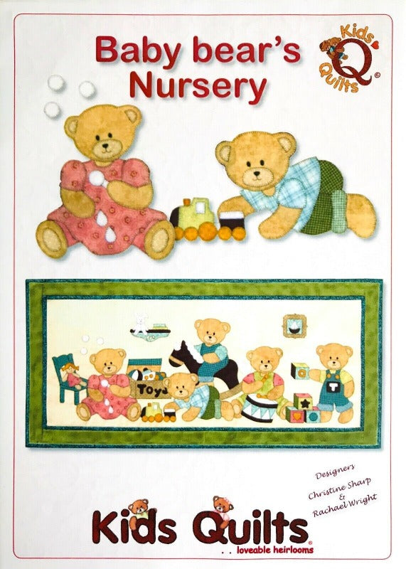 Kids Quilts - Baby Bear's Nursery Pattern