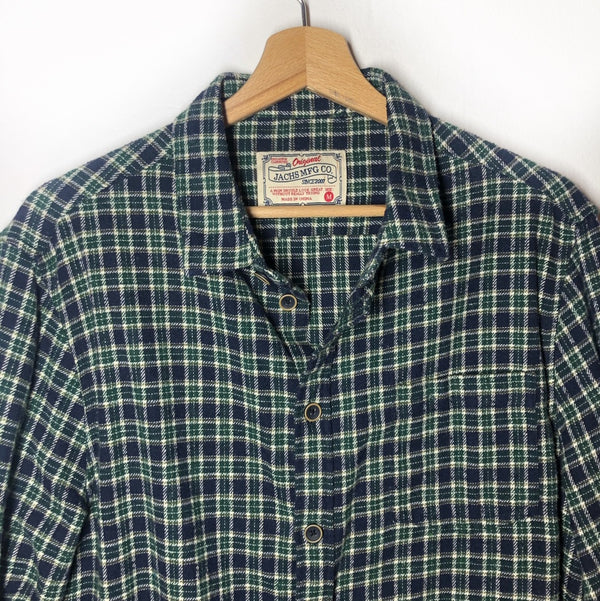 Signature Flannel Button Down