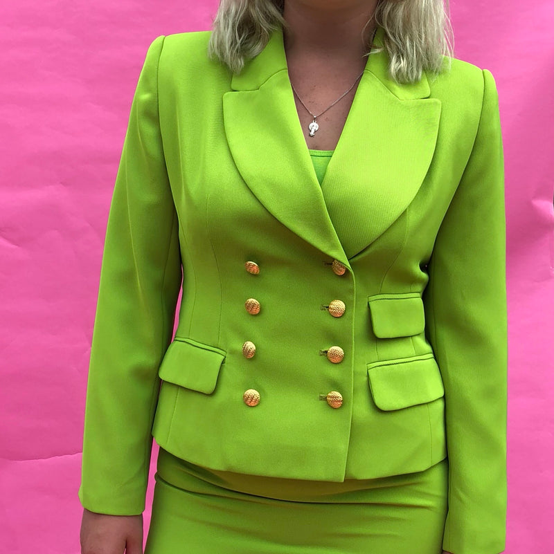 Girl Boss Skirt Suit