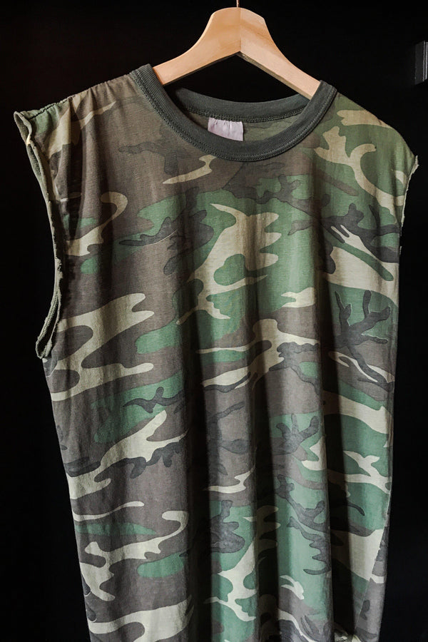 Paper Thin Vintage 50/50 Camo Tee