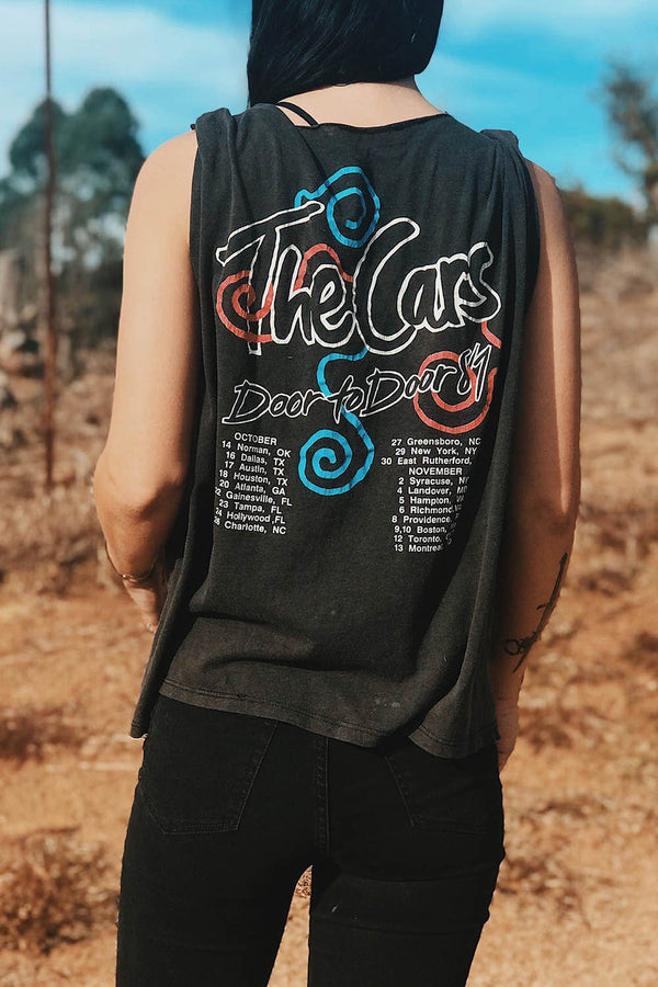 The Cars 1987 Paper Thin Soft 'N Faded Tee