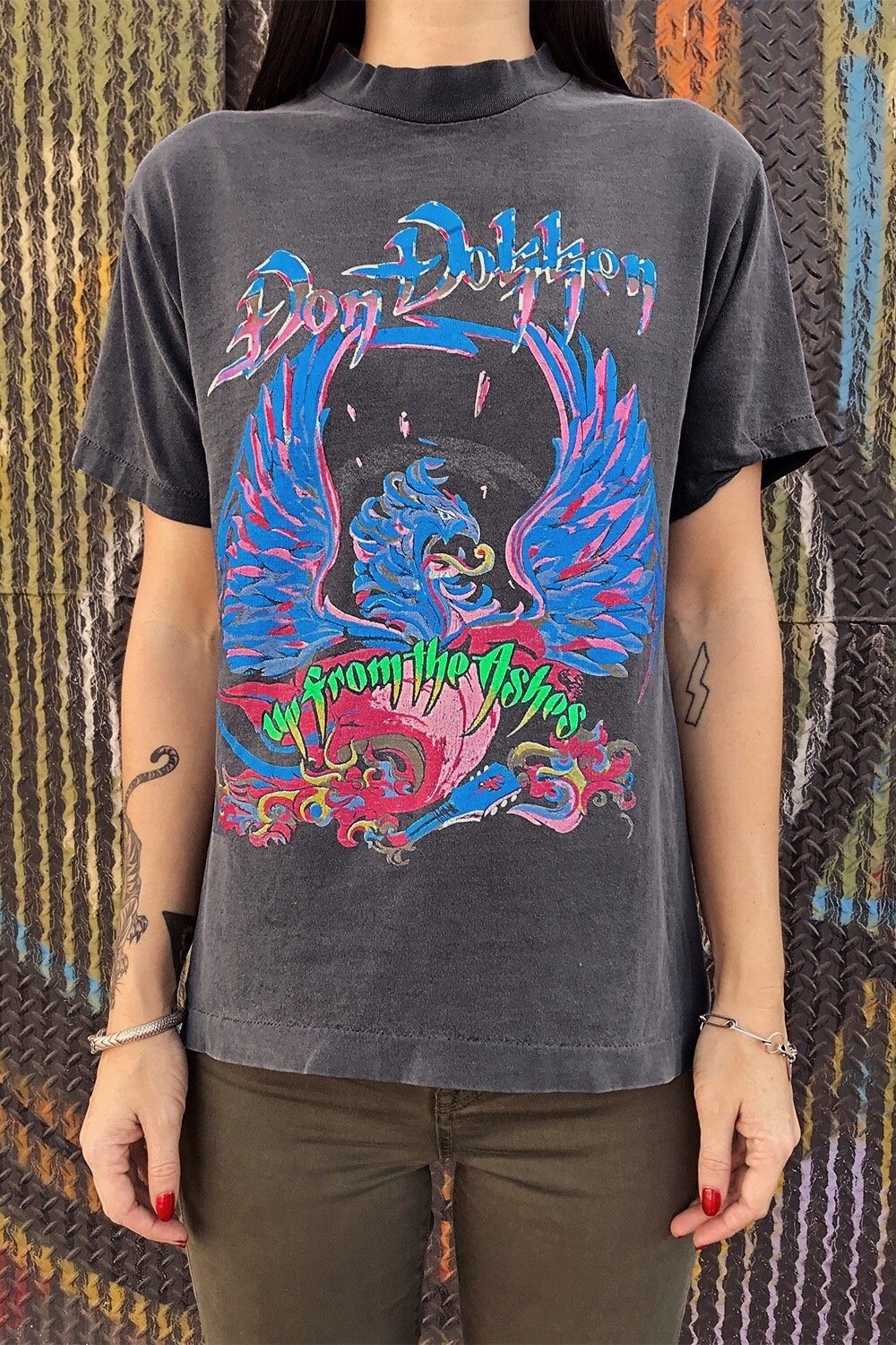 Vintage Original DOKKEN 'Up From The Ashes' Tour Tee