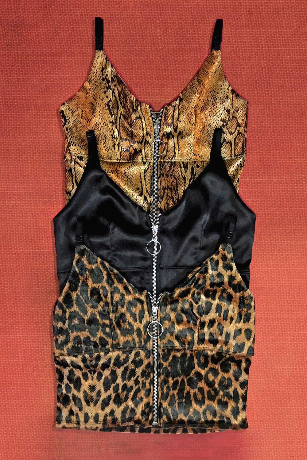 The Renegade Zipper Top in Jaguar