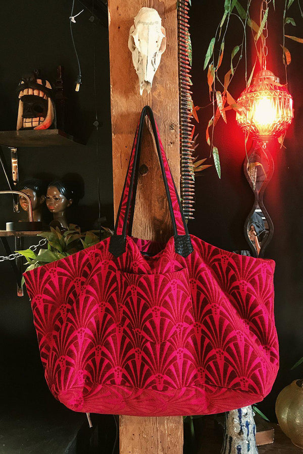 The Big Bag in La Paz Pink