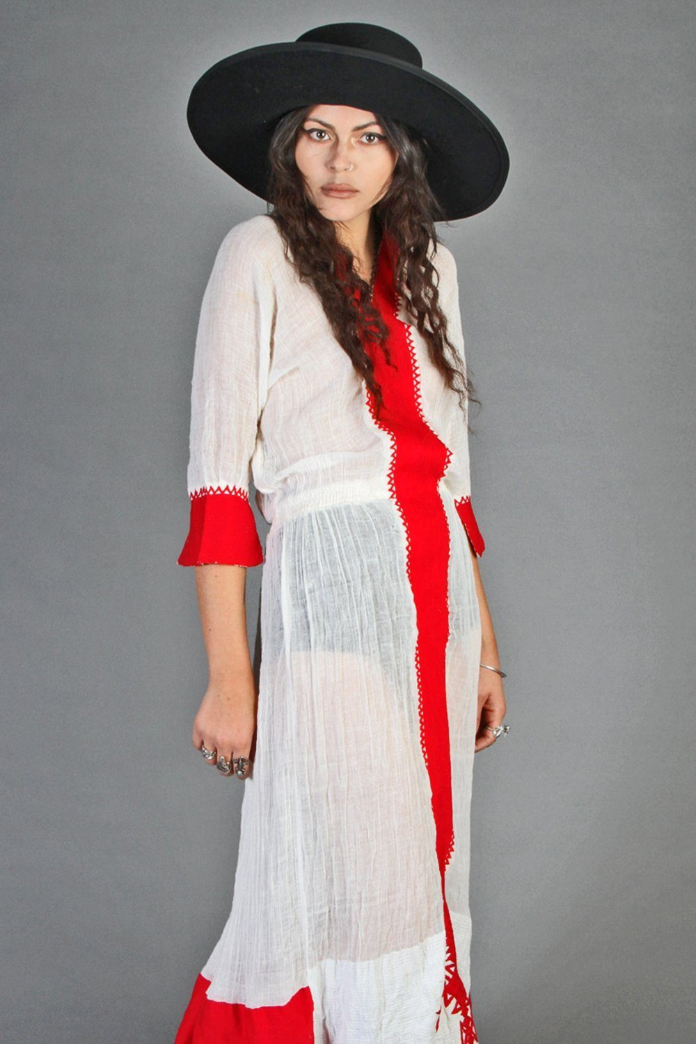 """The Pallenberg"" Moroccan Gauze Maxi Dress"