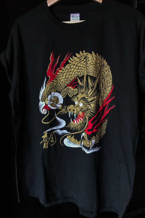 Golden Dragon Soft & Thin Tee