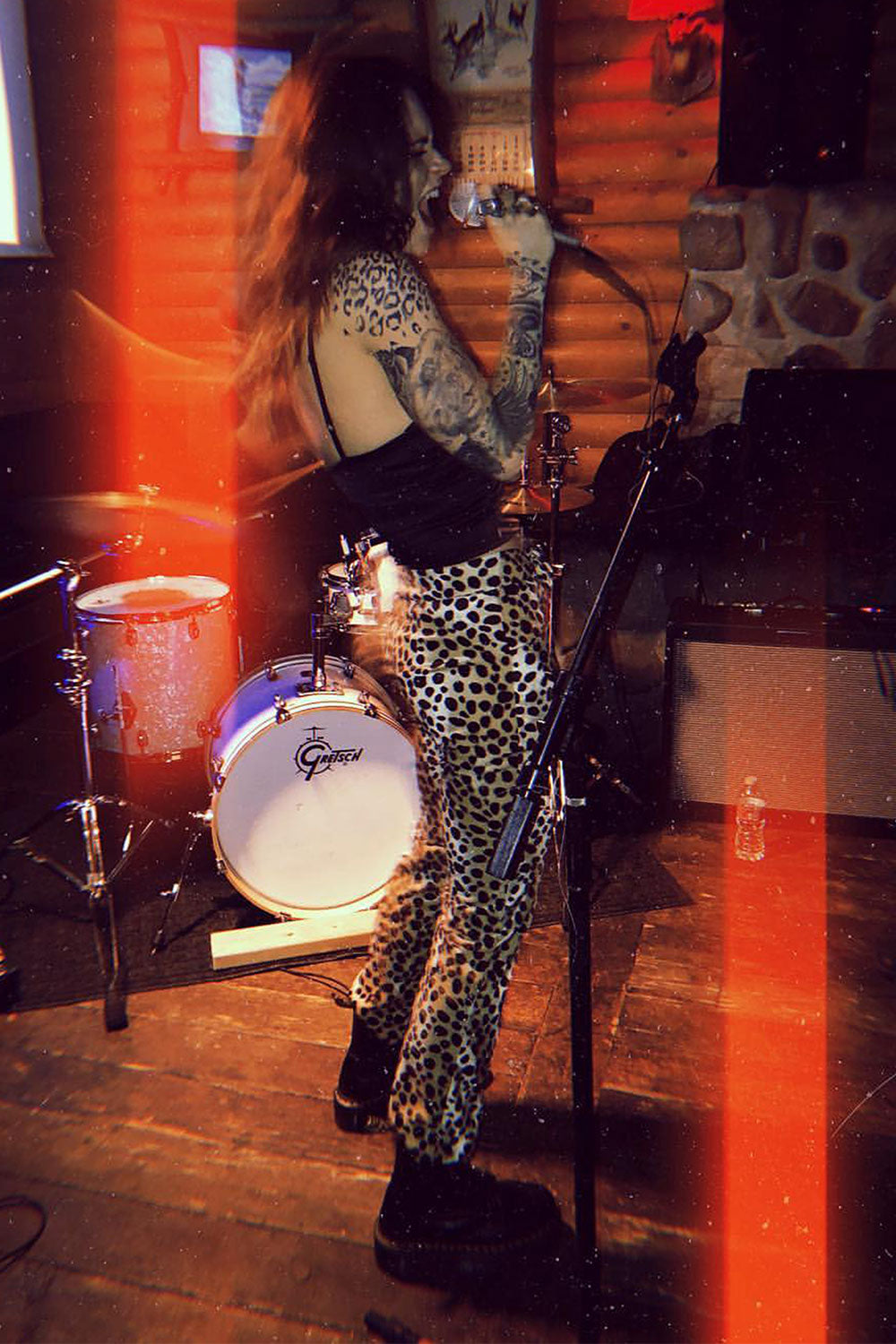 Electric 77 Dalmatian Cigarette Pants