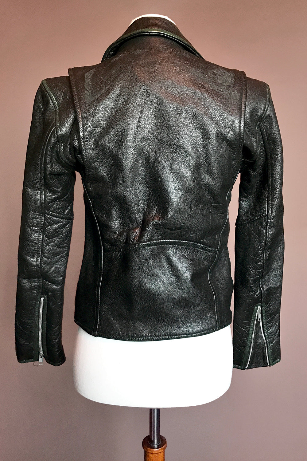 After Midnight ✦ Fitted Buttery Leather Biker Jacket