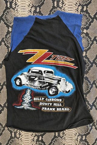 ZZ Top Super Soft Double-Sided Eliminator Tour Tee