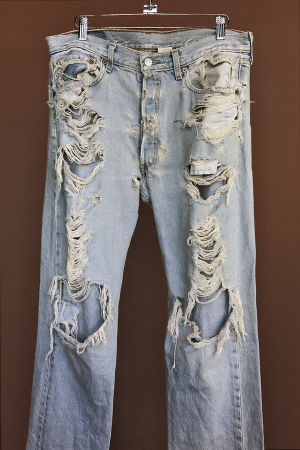 Vintage Perfectly Destroyed Levi's Jeans