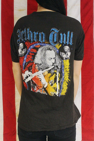 THE BEST Ultra Rare Double Sided Jethro Tull Glitter Tee