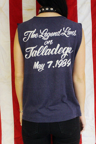 "1989 ""The Legend Lives"" Tattered Tissue Thin Sleeveless Tee"
