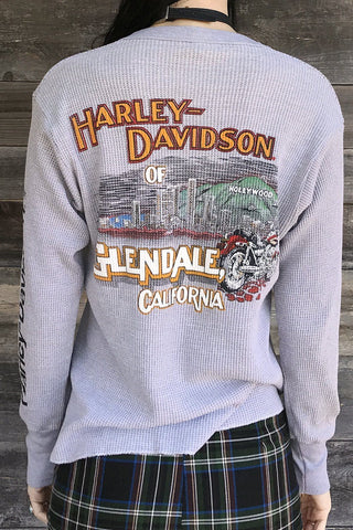 Harley of Hollywood Double-Sided Soft 'N Worn Waffle Knit 50/50 Thermal