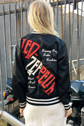 The One that Got Away: 1970s Vintage Led Zeppelin Bomber Jacket