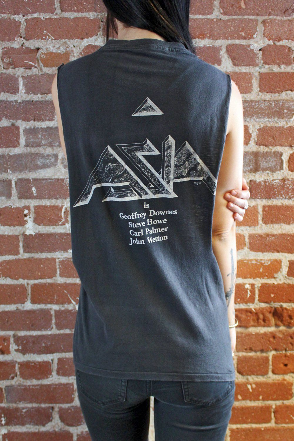 1982 ASIA Super Soft, Thin, 'N Faded Sleeveless Tee