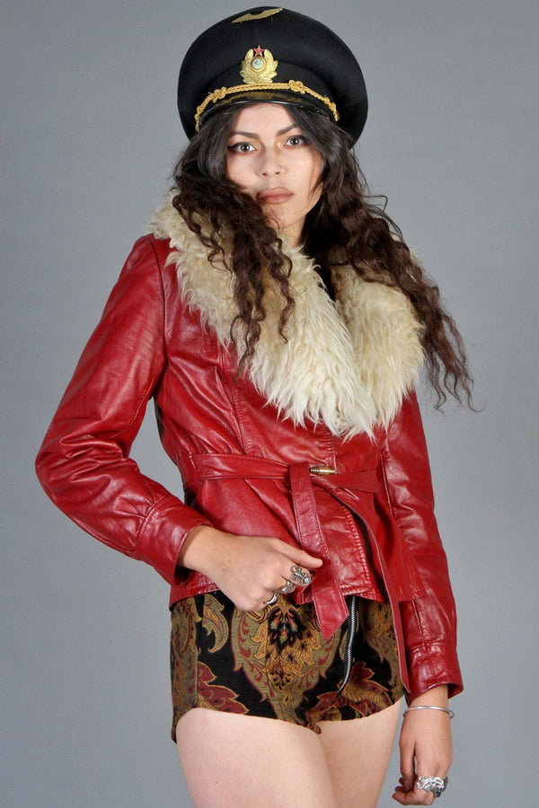 King Crimson 60s Killer Cropped Penny Lane Jacket