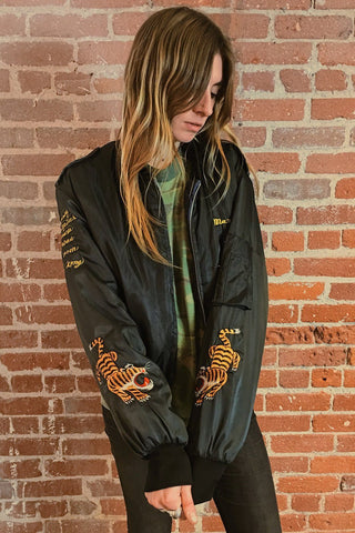 In The Jungle Triple Tiger Bomber Jacket