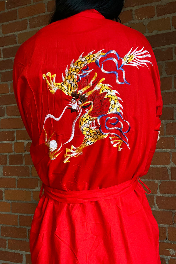 Cherry Bomb Dragon Robe